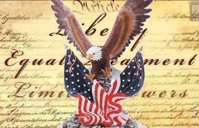 Constitution with Eagle